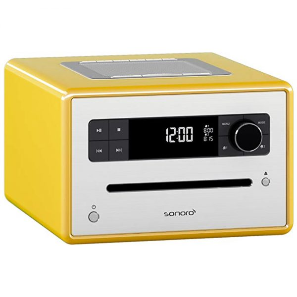 Sonoro Design CD (Yellow) - Angled