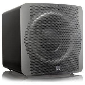 SVS SB-3000 (Piano Black) - Angled (With Grille)