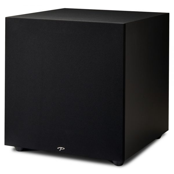 Paradigm Defiance X15 (Satin Black) - Angled (With Grille)
