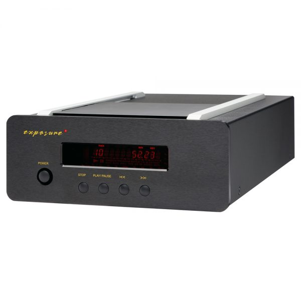 Exposure XM CD Player (Black) - Angled