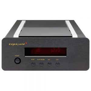Exposure XM CD Player (Black) - Front