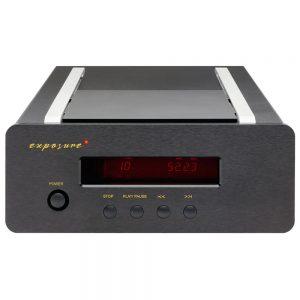 Exposure XM CD Player (Black) - Front