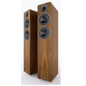 Acoustic Energy AE309 (Real Walnut Wood) - Angled