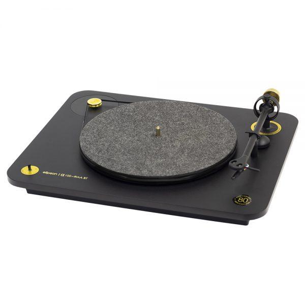 Elipson Alpha 100 RIAA BT 80th - Angled 2