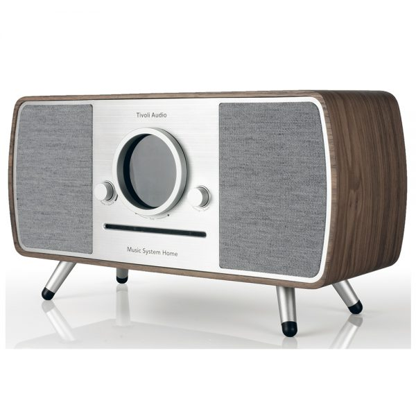 Tivoli Audio Music System Home (Walnut) - Angled