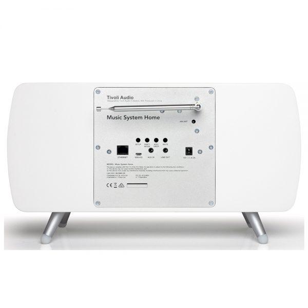 Tivoli Audio Music System Home (White) - Back