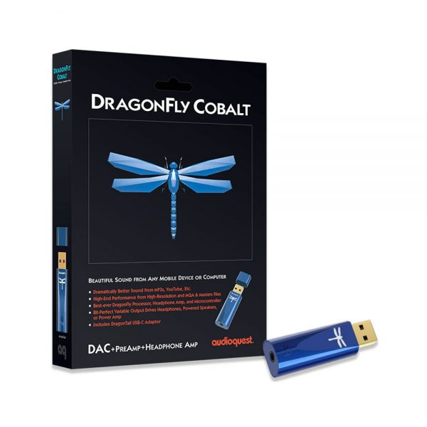 AudioQuest Dragonfly Cobalt - Boxed