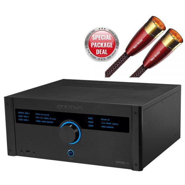 Emotiva RMC-1 & AudioQuest RedRiver Package