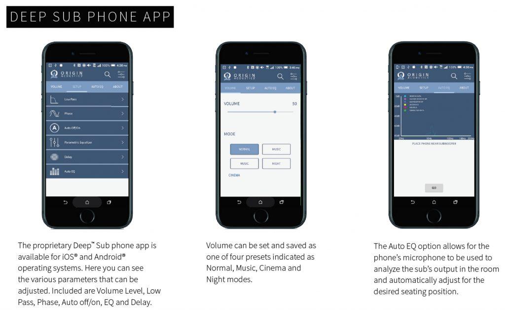 Deep Sub Phone App - Full