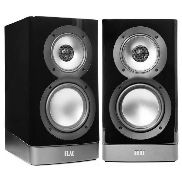 ELAC NAVIS ARB-5.1 (Gloss Black) - Angled