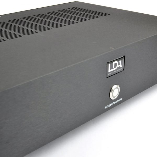 Longdog Audio McJ3 (Black) - Front