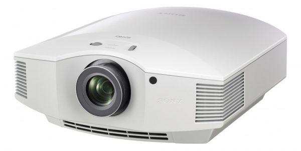 Sony VPL-HW65ES 3D SXRD (White) - Angled