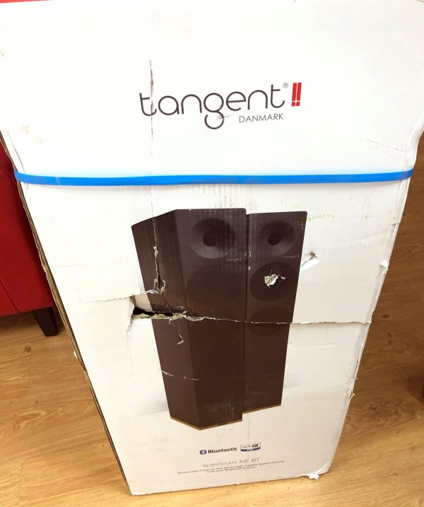 Tangent X6 BT (Satin White) - Damaged Box