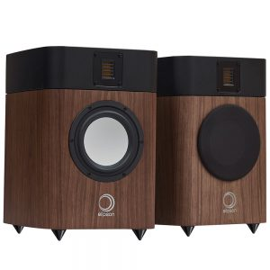Elipson Legacy 3210 (Walnut) - Front (With One Grille)