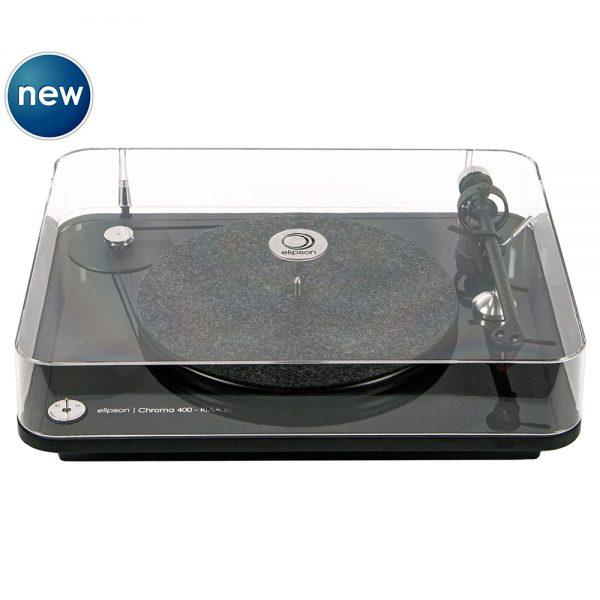 Elipson Chroma 400 RIAA BT (Black) - Front