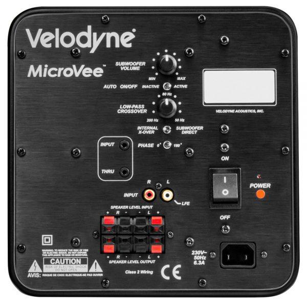 Velodyne MicroVee mk2 - Back