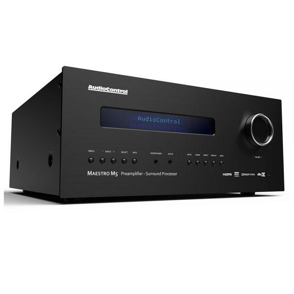 AudioControl Maestro M5 - Angled
