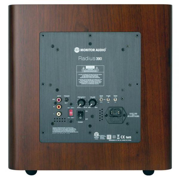 Monitor Audio Radius 390 (Wanut) - Back