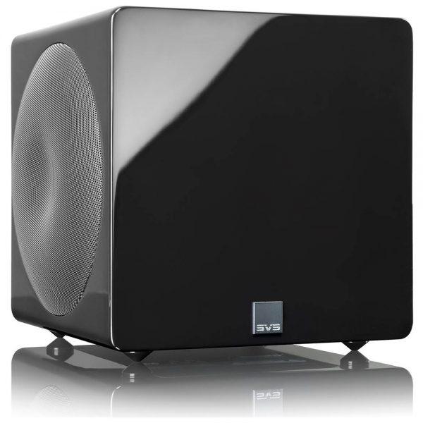 SVS 3000 Micro (Piano Black) - Angled