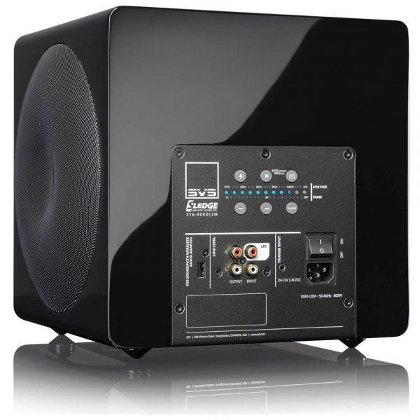 SVS 3000 Micro (Piano Black) - Back