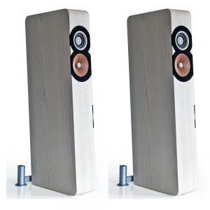 Boenicke Audio W11 Speakers - Angled