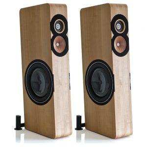 Boenicke Audio W13 Speakers - Angled