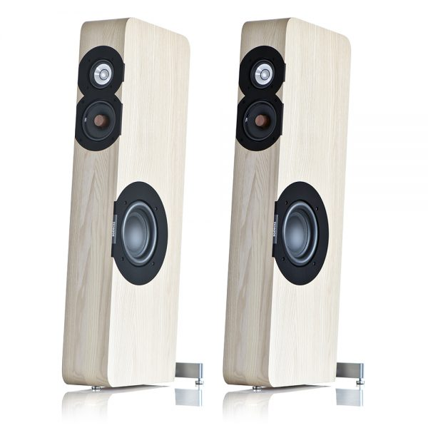 Boenicke Audio W8 Speakers - Angled