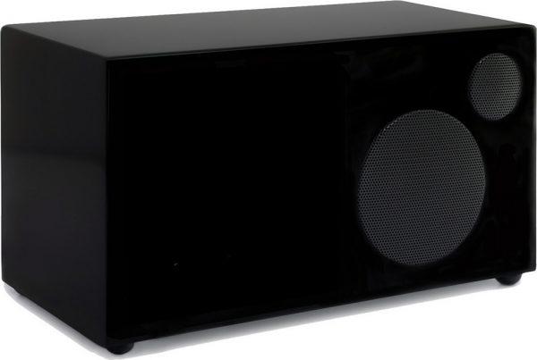 Como Audio Ambiente (Piano Black) - Angled