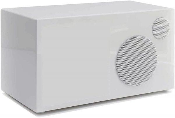 Como Audio Ambiente (Piano White) - Angled