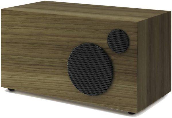 Como Audio Ambiente (Walnut & Black) - Angled