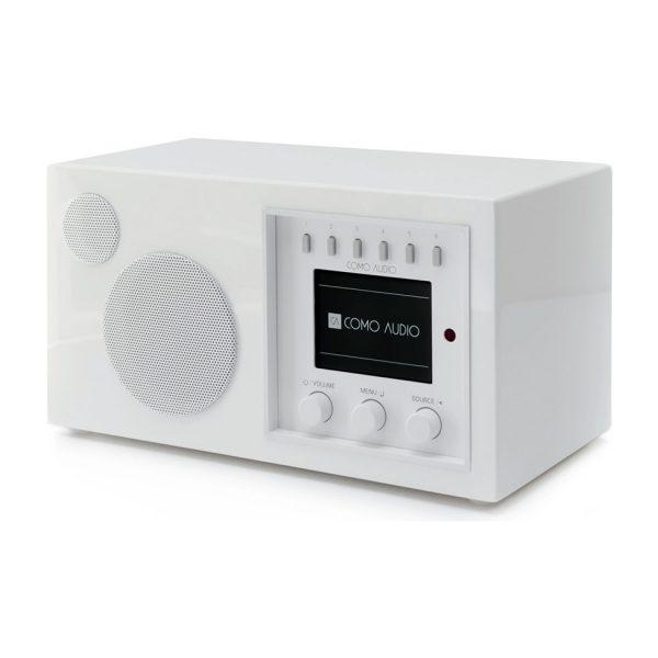 Como Audio Solo (Piano White) - Angled