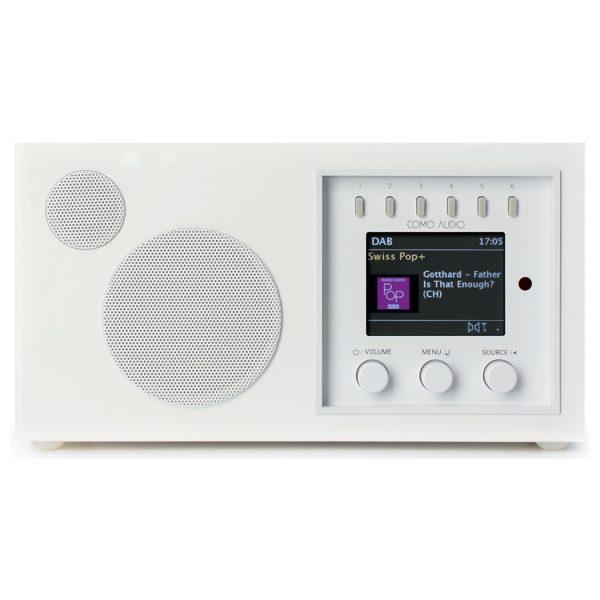 Como Audio Solo (Piano White) - Front