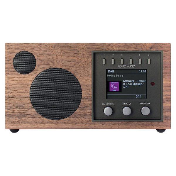 Como Audio Solo (Walnut & Black ) - Front