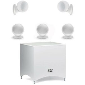 Cabasse Alcyone 2 5.1 Speaker System (Gloss White)