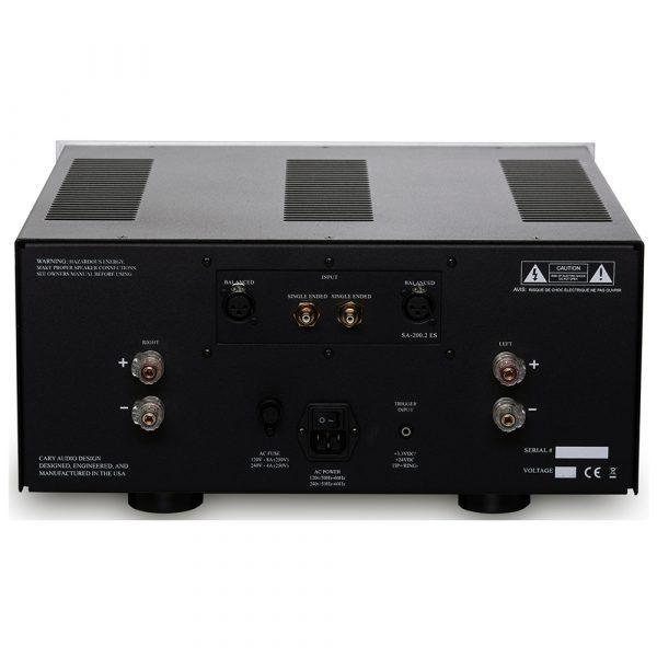 Cary Audio SA-200.2 ES - Back