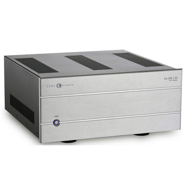 Cary Audio SA-200.2 ES (Silver) - Angled