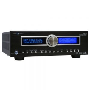 Cary Audio SI-3002.d (Black) - Left Angled