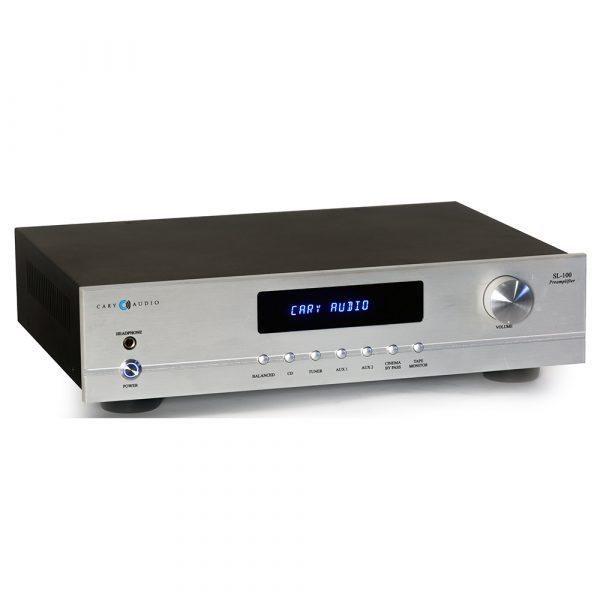 Cary Audio SL-100 (Silver) - Angled