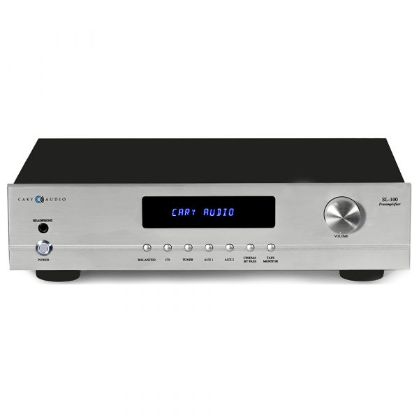 Cary Audio SL-100 (Silver) - Front