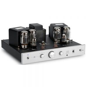 Cary Audio SLI-80HS (Silver) - Left Angled